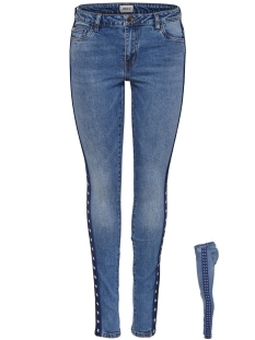 Only Jeans onlCARMEN REG SK AN TAPE JEANS BJ12 15166135 Medium Blue Denim