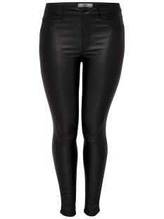 Only Carmakoma Jeans carPUNK REG SK COATED 15167617 Black