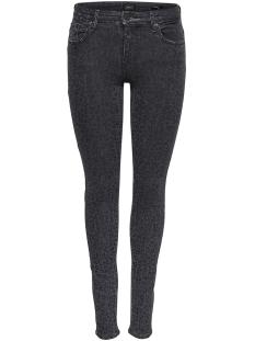 Only Jeans onlCARMEN REG LEO DNM JEANS REA2368 15165509 Grey Denim