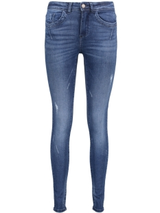 Noisy may Jeans NMLUCY SKINNY DESTROY JEANS AZ037 D 27005189 Dark Blue Denim