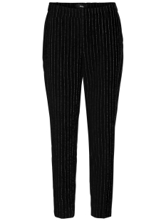 Object Broek OBJSIRINGO PIN STRIPED 7/8 PANT 100 23028446 Black/W. SILVER