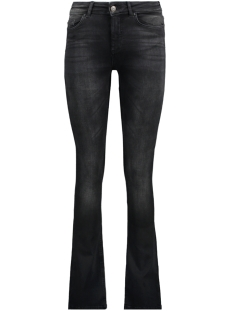 Only Jeans onlBLUSH MID SWEET FLARED JEANS REA 15170221 Black Denim