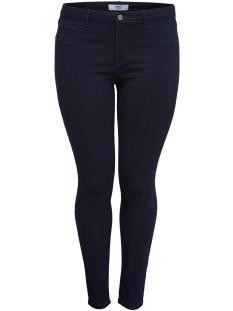 carthunder push up reg skinny jeans 15166716 only carmakoma jeans dark blue denim