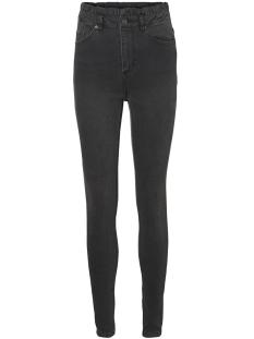 Vero Moda Jeans VMCLOUD HR RUFFLE WAIST JEANS 10208044 Black