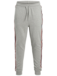 Jack & Jones Broek JORTAPE SWEAT PANTS 12142949 Light Grey Melange
