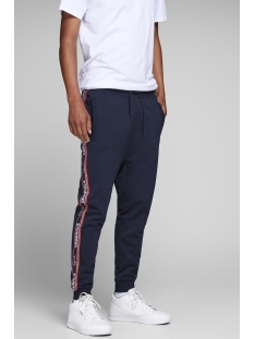 jortape sweat pants 12142949 jack & jones broek total eclipse