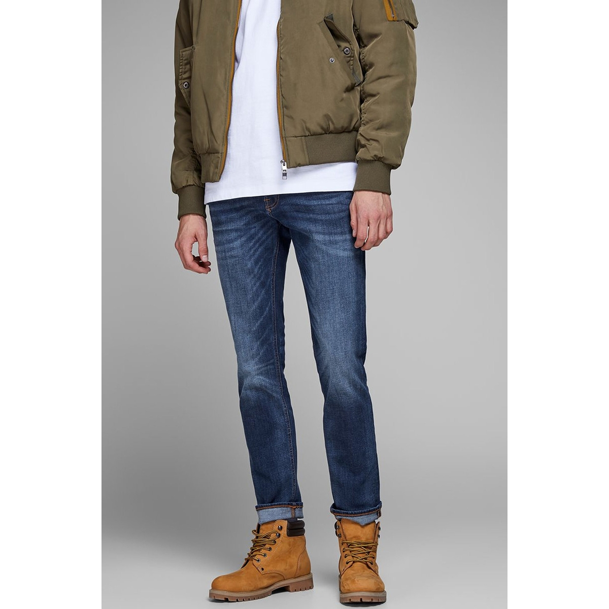 jjitim jjoriginal am 782 50sps noos 12146384 jack & jones jeans blue denim