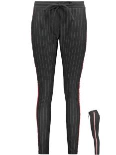atlanta 2 pinstripe trouser zoso broek antra/red