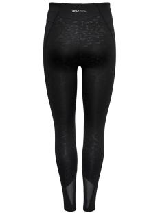 onpmau aop yoga training tights 15159809 only play sport broek black/w. black a
