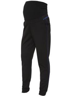 mlmathilde jersey pants 20009268 mama-licious positie broek black/estate blu