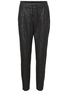 Vero Moda Broek VMEVA MR LOOSE SNAKE COATING PANT 10207808 Black