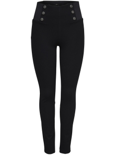 Only Legging onlEVIE MID BUTTON DETAIL LEGGING P 15168582 Black