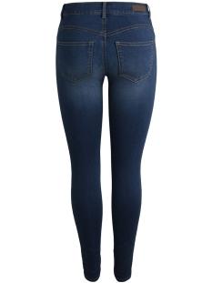 pcshape-up v361 mw jeggings mb/noos 17090497 pieces jeans medium blue denim
