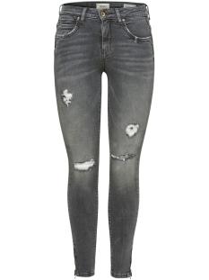 Only Jeans onlKENDELL REG SK ANK ZIPJNS CRE188 15170819 Grey Denim