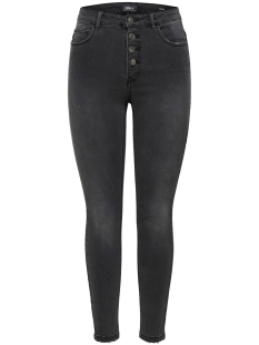 Noisy may Jeans onlPETRA HW SK BT DOWN DNM JEANS BJ 15172070 Black