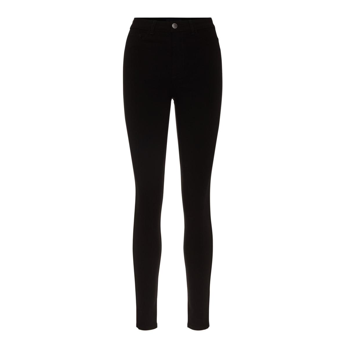 pchighskin wear jeggings noos 17080560 pieces jeans black
