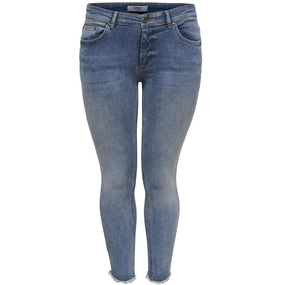 carwilly reg  skinny ank  jeans rea 15166945 only carmakoma jeans light blue denim