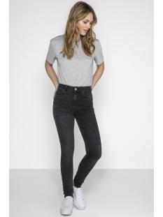pcdelly hw skn jeans b226 blk/noos 17087089 pieces jeans black