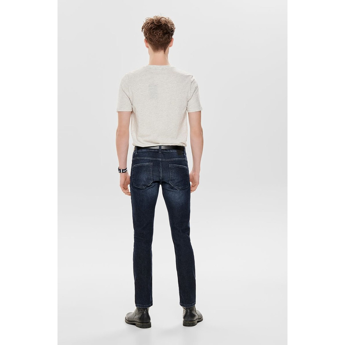 onsloom ld blue  pk 2045 noos 22012045 only & sons jeans blue denim