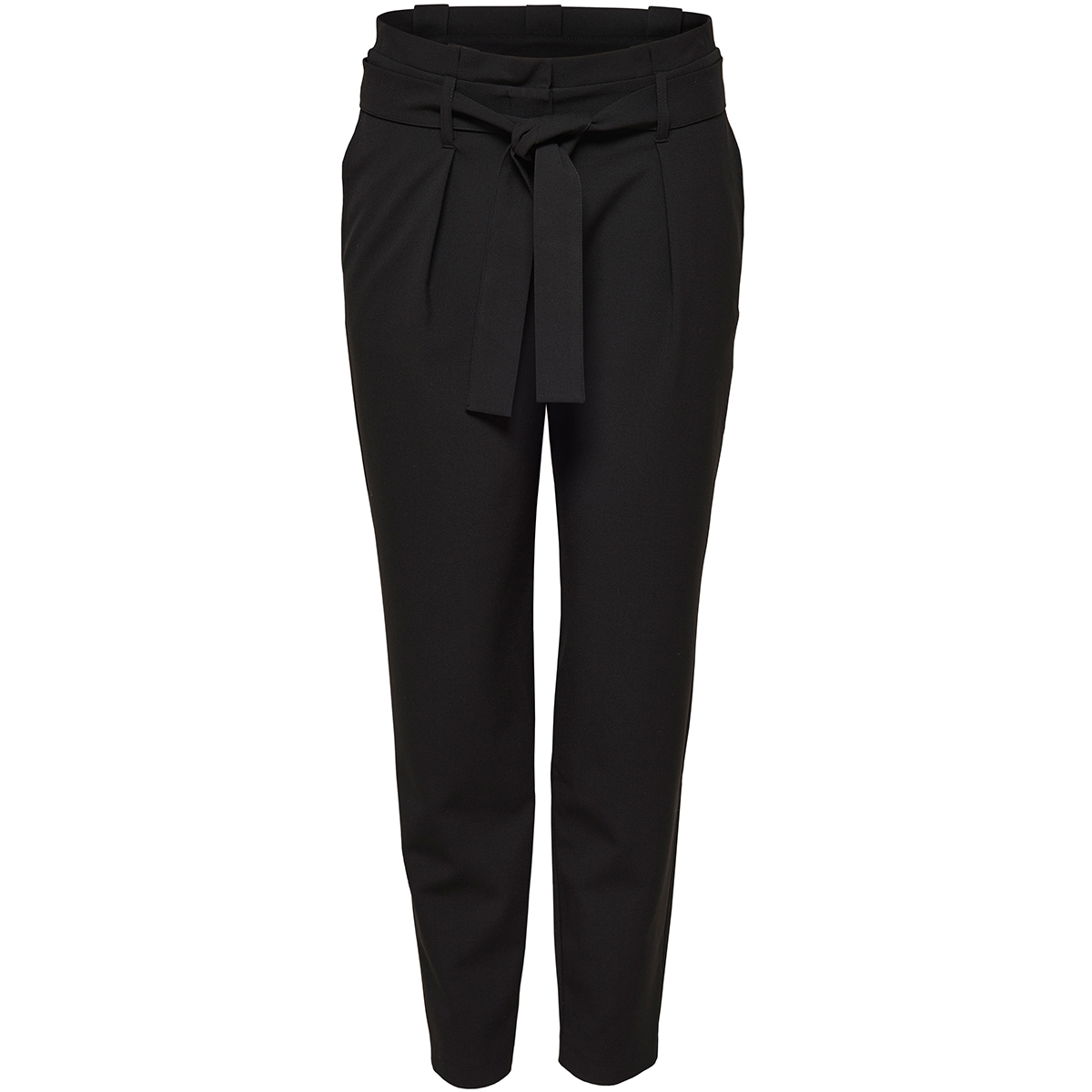 onlnicole paperbag ankel pants wvn noos 15160446 only broek black
