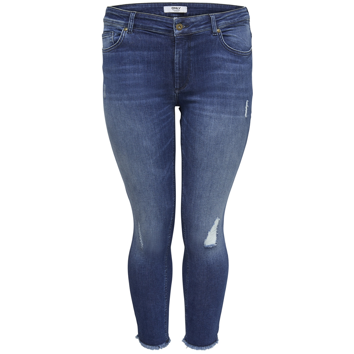 carwilly reg skinny ank jeans mbd noos 15174950 only carmakoma jeans medium blue denim