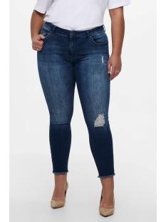 Only Carmakoma Jeans carWILLY REG SKINNY ANK JEANS MBD NOOS 15174950 Medium Blue Denim