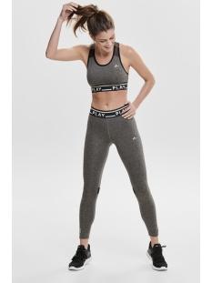 onpluna training tights prs 15160056 only play sport broek black/w. melange
