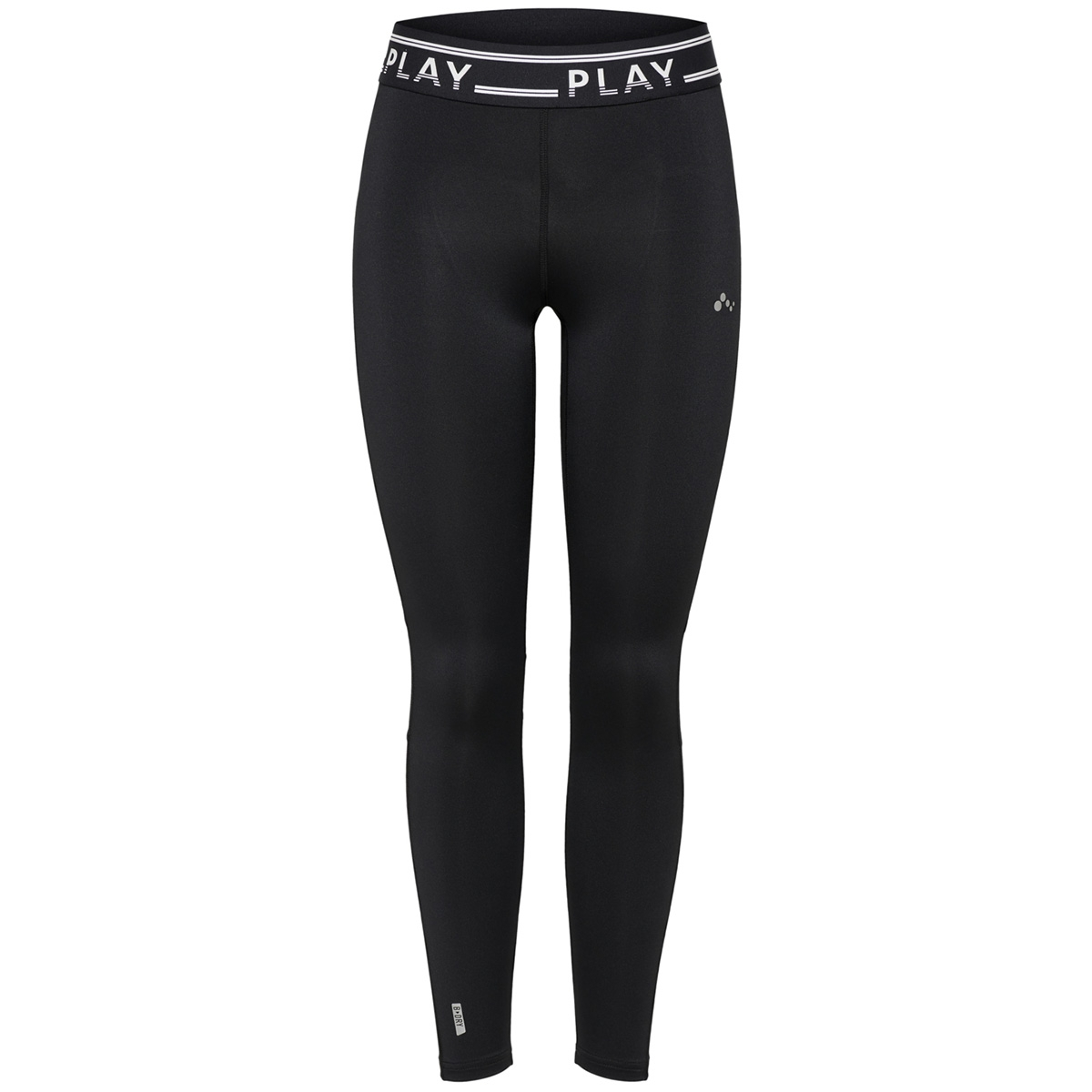onpluna training tights prs 15160056 only play sport broek black/w. black