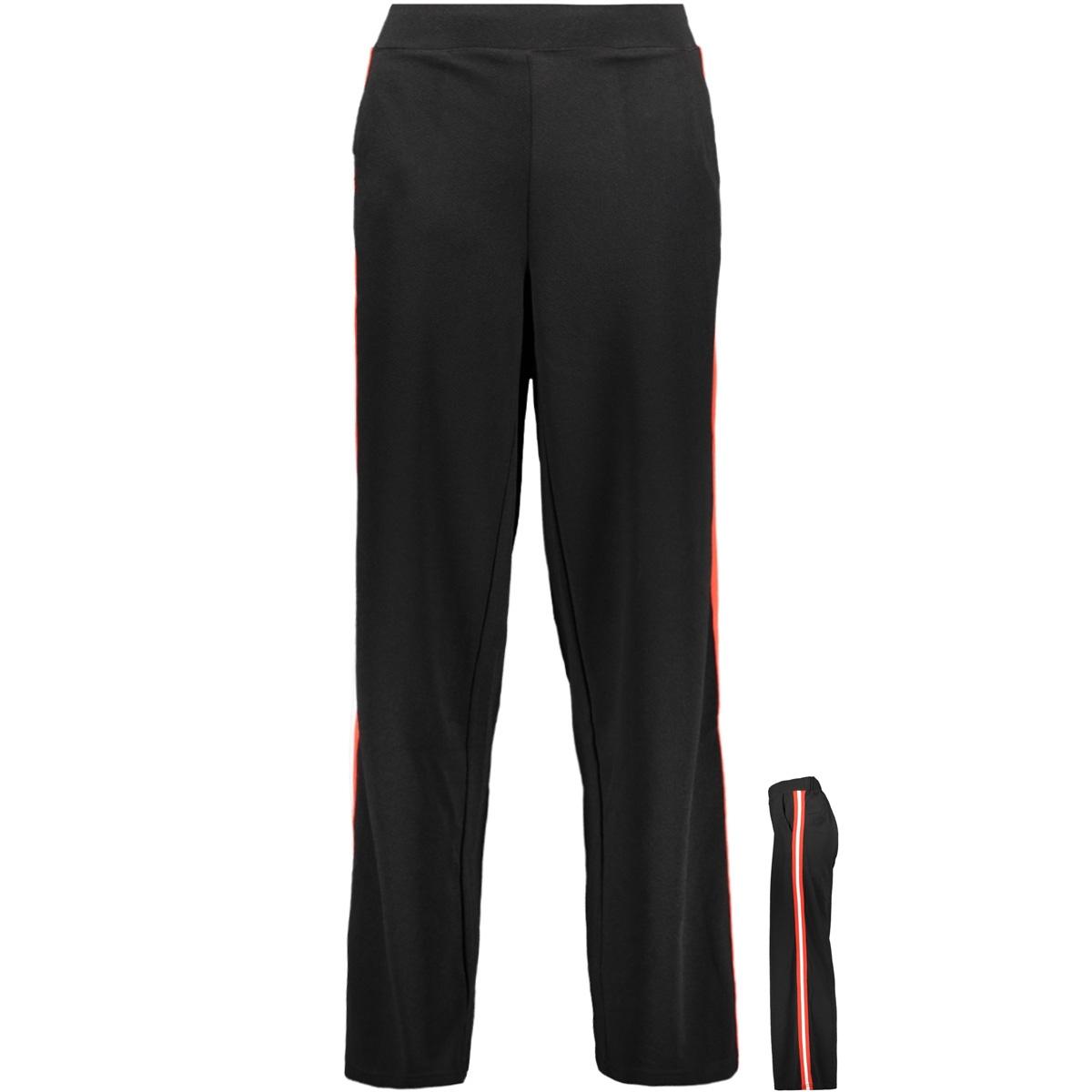 vmsira coco nw wide pant 10207688 vero moda broek black/tape col f