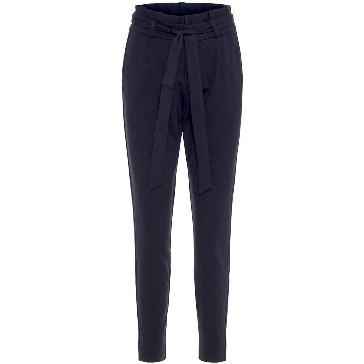 vmeva hr loose paperbag pant color 10210499 vero moda broek night sky