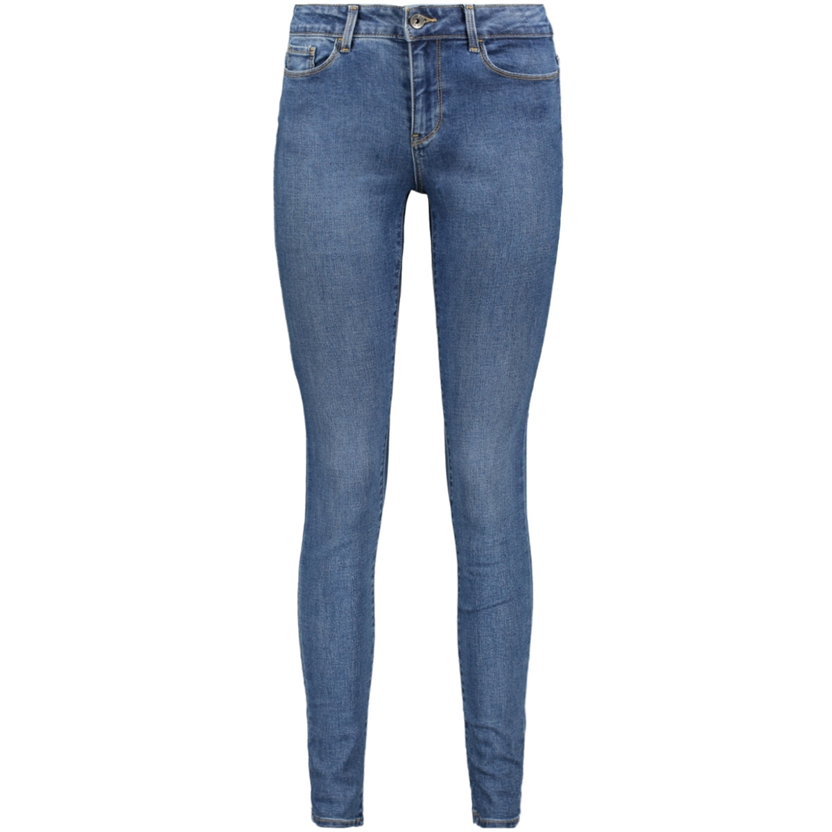 vmseven mr slim jeans vi301 10201609 vero moda jeans medium blue denim