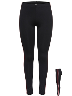 Jacqueline de Yong Legging JDYPAMELA PIPING LEGGINGS JRS 15171833 Black/W. FIERY R