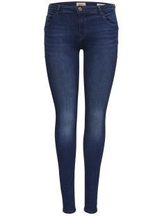 Only Jeans onlALLAN REGSK PUSHUP JNS BB SO1145 15171166 Dark Blue Denim