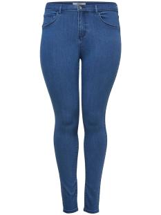 Only Carmakoma Jeans carSTORM PUSH UP HW SK JEANS MBD NOOS 15174947 Medium Blue Denim
