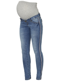 Mama-Licious Positie broek MLSONAR SLIM TAPE JEANS A. 20009460 Light Blue Denim