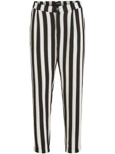 Object Broek OBJSANNE MW PANTS 101 23028711 Gardenia/STRIPE