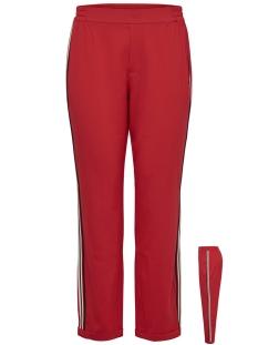 Jacqueline de Yong Broek JDYIZA SOLID ANK PANT WVN NOOS 15171805 Fiery Red