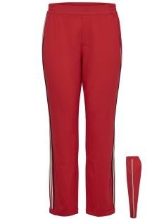 jdyiza solid ank pant wvn noos 15171805 jacqueline de yong broek fiery red