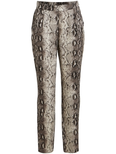 Vila Broek VIPINJA PANTS /RX 14053459 Cloud Dancer/SNAKE