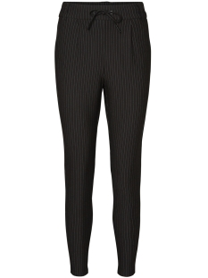 Noisy may Broek NMPOWER NW PINSTRIPE  PANTS NOOS 27002788 Black/WHITE