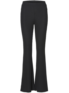 Pieces Broek PCBERKLEY MW FLARED PANT 17096037 Black