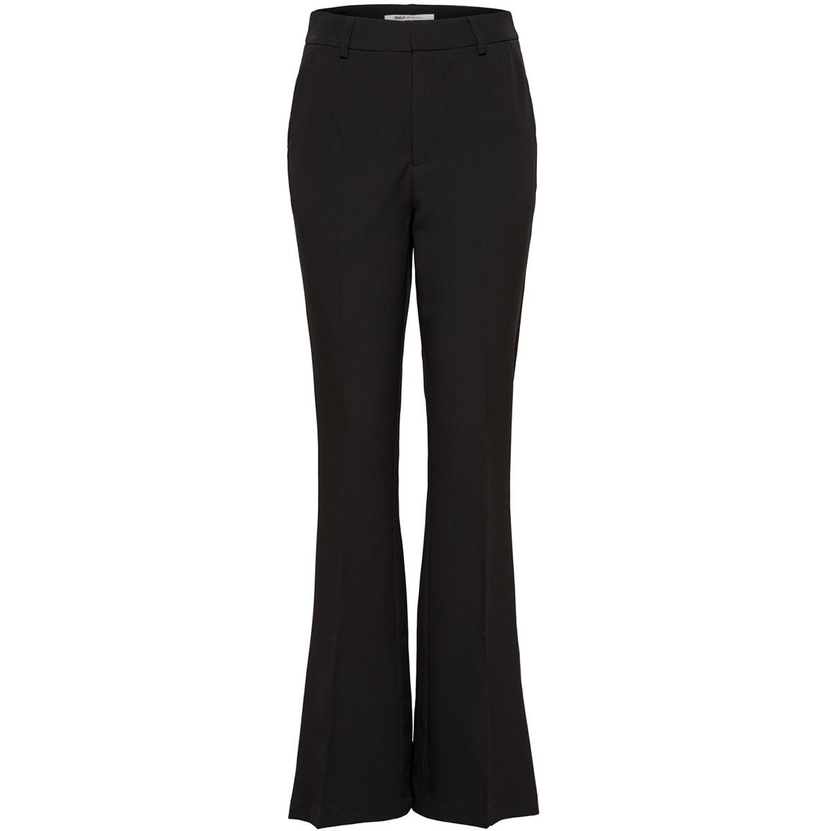 onlcharming hw flare pant pnt 15169715 only broek black