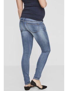 mlgolden slim jeans noos 20009807 mama-licious positie broek light blue denim