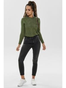 onlmila hw skinny ank jeans bj13776 15173437 only jeans black denim