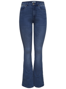 Only Jeans onlROYAL HIGH SK SWEET FLARED 504 15170042 Dark Blue Denim