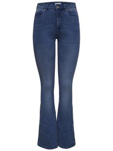 Only Jeans onlROYAL HIGH SK SWEET FLARED 504 15170042 Dark Blue Denim