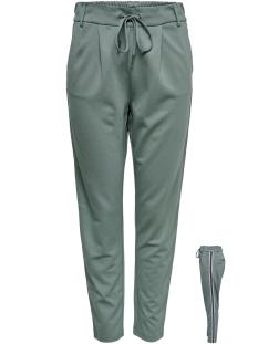 onlpoptrash easy grey tape pant pnt 15175171 only broek balsam green/panel/grey