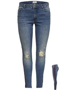 Only Jeans onlCARMEN REG SK AN TAPE DNM JEANS 15173559 Medium Blue Denim