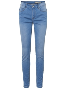 Vero Moda Jeans VMSEVEN SHAPE UP MR SLIM JEAN VI334 10209582 Light Blue Denim