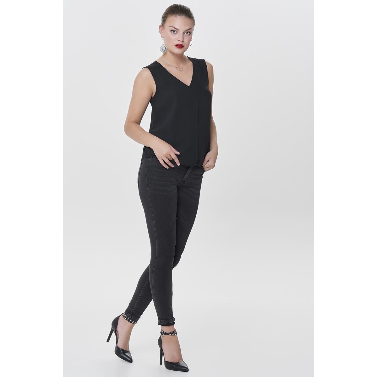 jdyjake skinny rw black dnm noos 15161188 jacqueline de yong jeans black denim